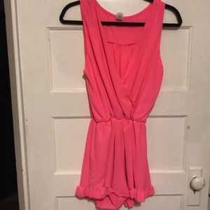 Other - Hot pink romper